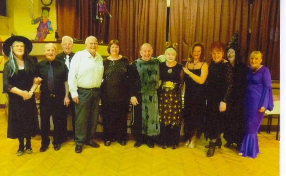 Presentation at Tameside Phoenix Club with Rose & Malcolm