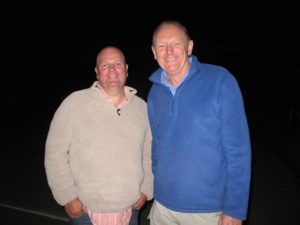 Tony Kershaw and Mike Kewley - Kidneys For Life patients.